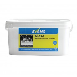 Evans Vanodine Glaze Machine 4in1 Dishwashing Powder 5kg