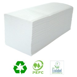 White 2ply Interleaved Paper Towels - Case of 3200