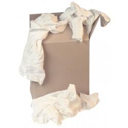 Premium White Cotton Wipers 10kg
