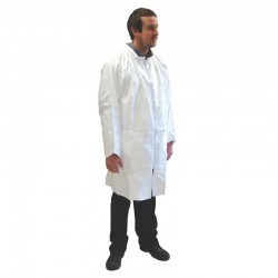 Tyvek Classic Laboratory Coat - Available in Sizes Small - X-Large