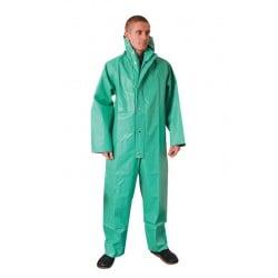 Green Chemical Resistant PVC Boilersuit