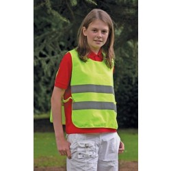 Yellow Hi Visibility Children's Tabard - One Size
