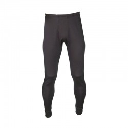 Black Thermal Baselayer Leggings - Available in Sizes Small - XX-Large