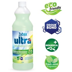 Zybax ULTRA Odour Eliminator & Multi-Purpose Cleaning Concentrate (1 Litre)