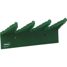 240mm Vikan Hygiene Polypropylene Wall Bracket Green