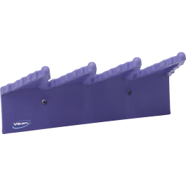 240mm Vikan Hygiene Polypropylene Wall Bracket Purple