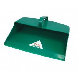 Large Plastic Open Mouth Dustpan Green