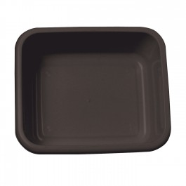 Black Rectangular Plastic Washing Up Bowl