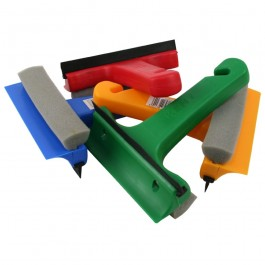 Plastic Windscreen Scraper and Squeegee
