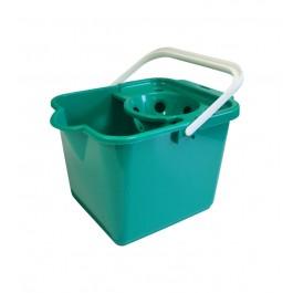 Addis 9Ltr Plastic Mop Bucket - Green