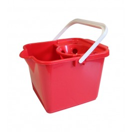 Addis 9Ltr Plastic Mop Bucket - Red