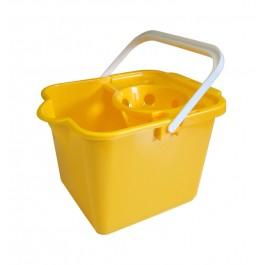 Addis 9Ltr Plastic Mop Bucket - Yellow