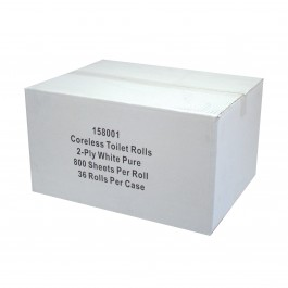 2ply Coreless Toilet Rolls Case
