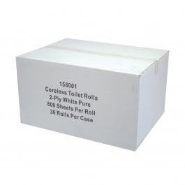 2ply Coreless Toilet Rolls Case