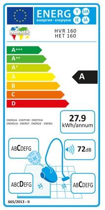 Numatic Energy Rating