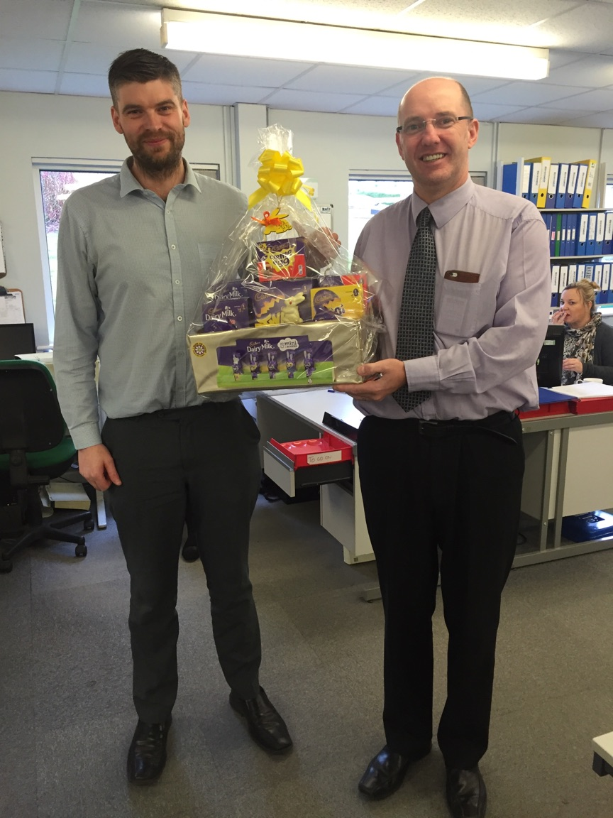 Easter Raffle Winner