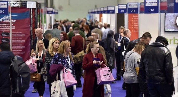 Photograph of Visitors at The Cleaning Show