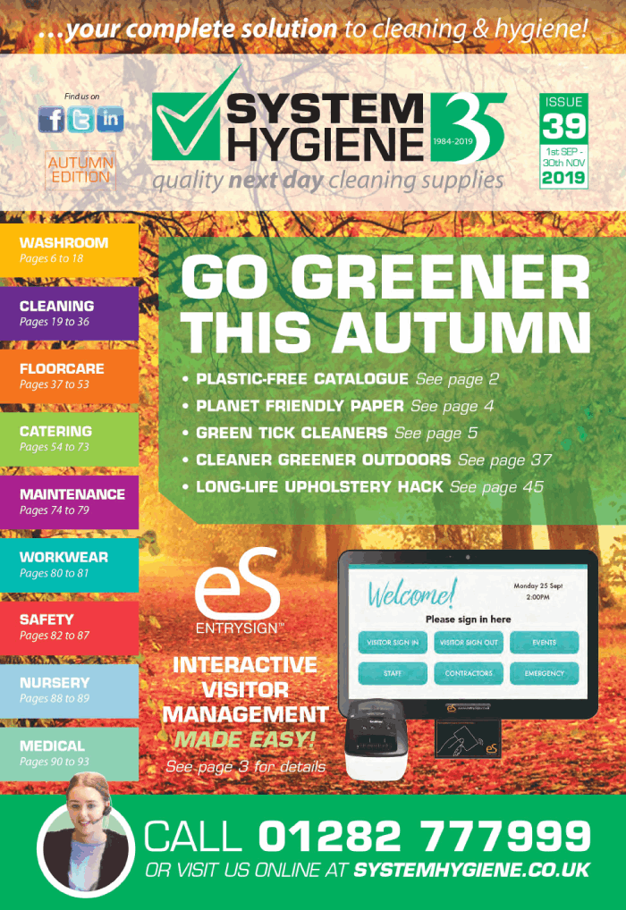 Image of the Cover of System Hygiene Catalogue Issue 39