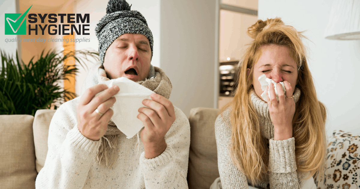 Image of flu in full winter swing