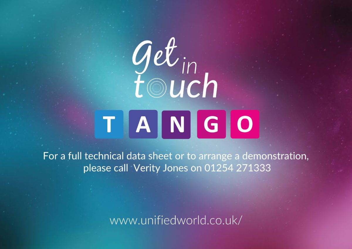 tango screens at unified world