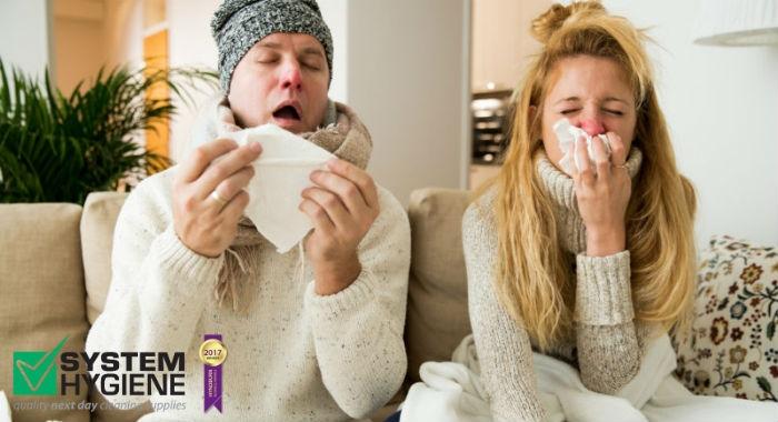 Image of flu in full winter swing