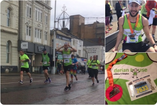 Image of Stephen Parker from System Hygiene who is running the Blackpool Half Marathon
