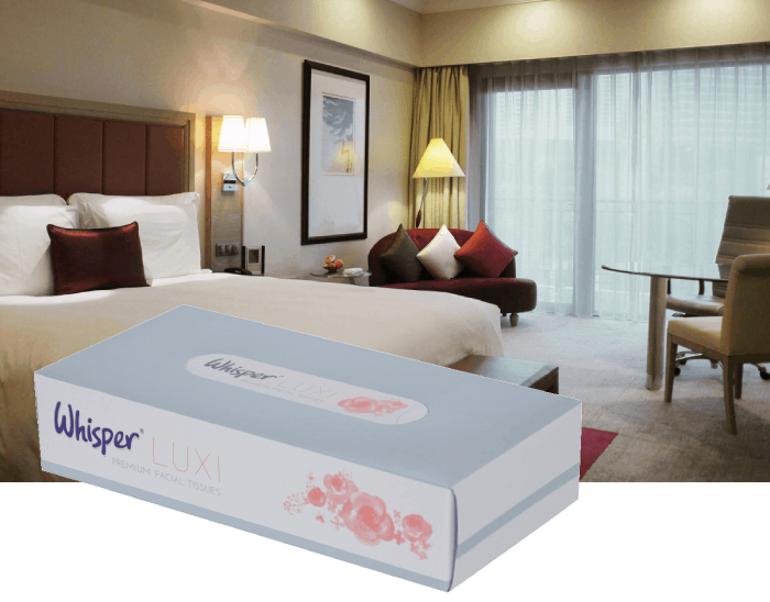 image of whisper luxi soft tissues