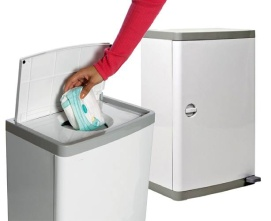 nappy bins and disposal