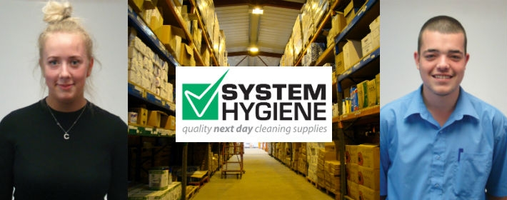 New apprentices at system hygiene