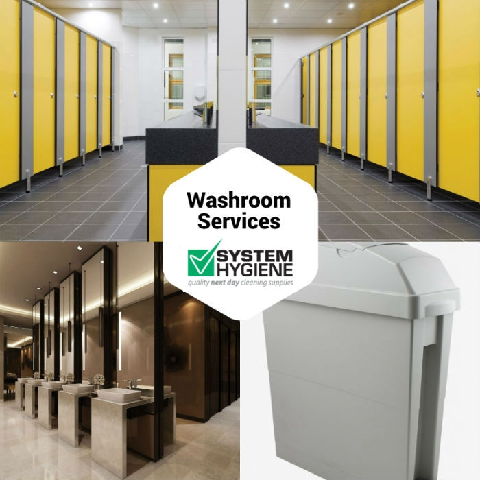washroom services from system hygiene