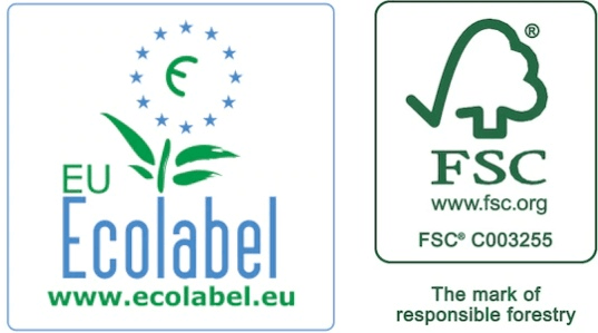 Eco labels for Tork product